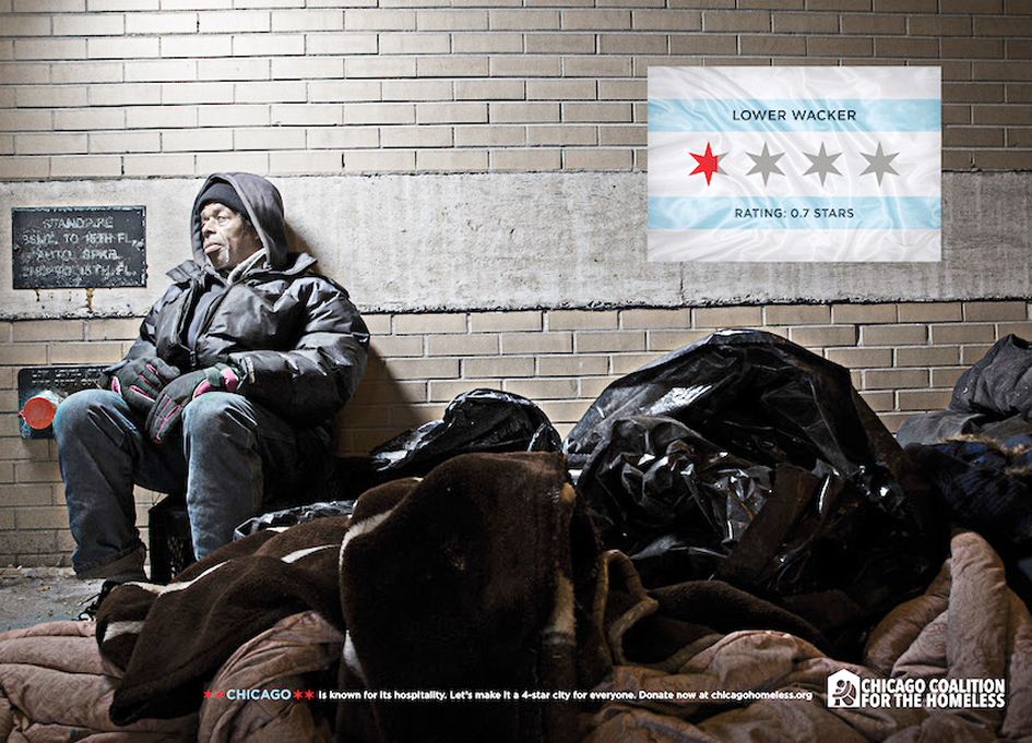 RAW: Marc USA works for Chicago's homeless
