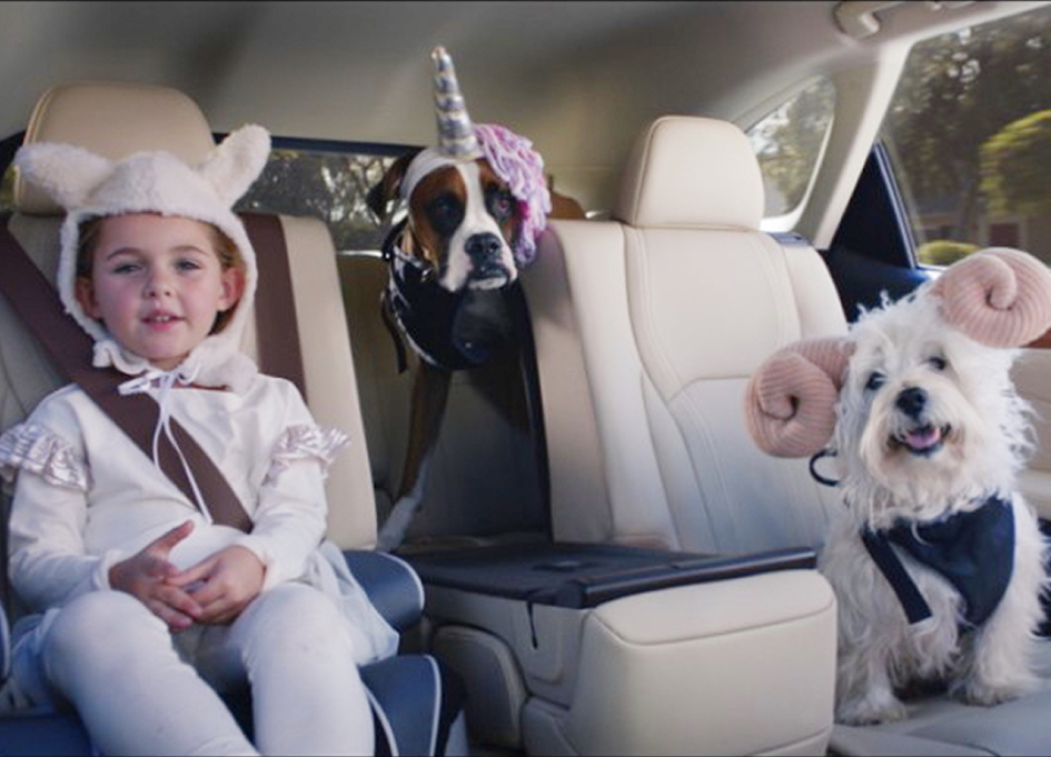 Minnie Driver voices new spot for Lexus by Team One
