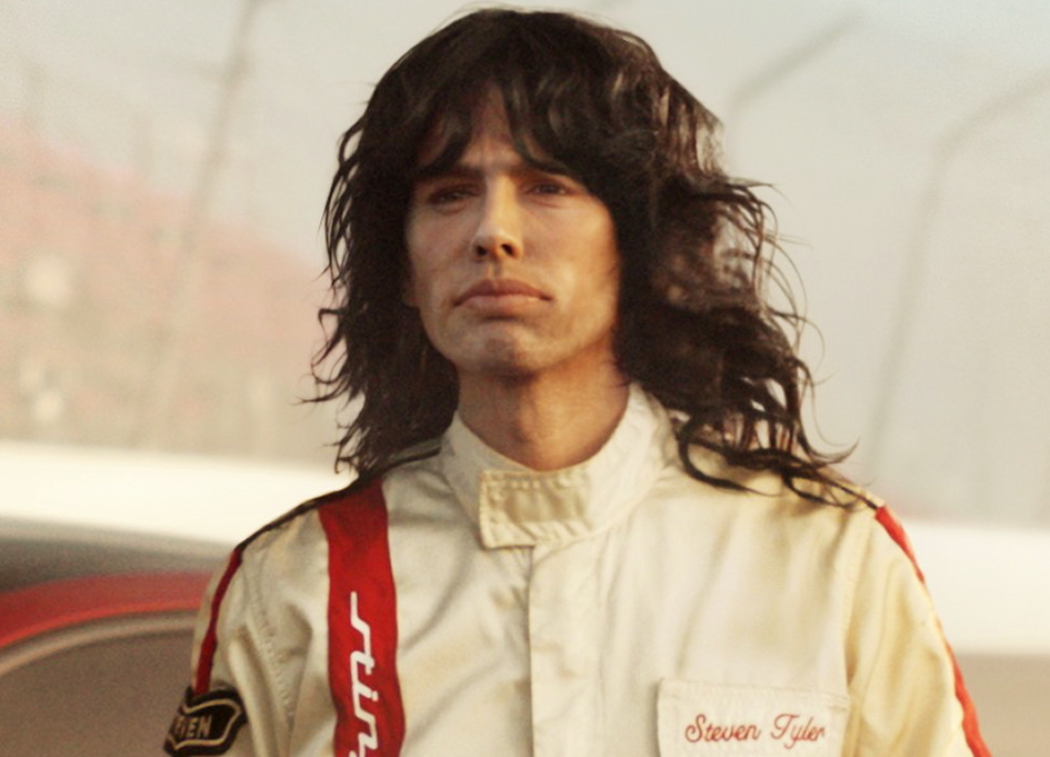 Steven Tyler appears to challenge Emerson Fittipaldi in a Kia Stinger spot by David&Goliath