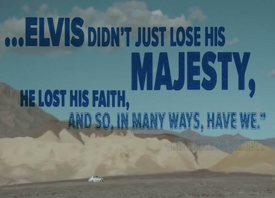 Trailer for the upcoming Elvis biopic 'The King' is released