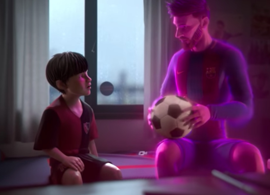 Gatorade releases beautifully animated film about Lionel Messi
