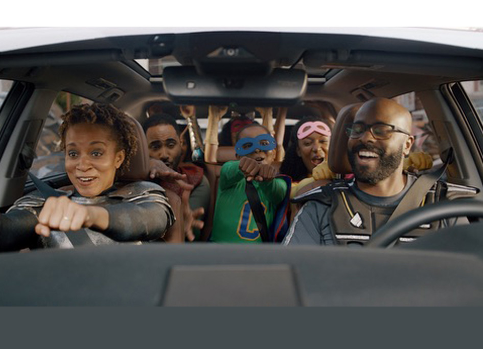 """Burrell teams up with The Colonie in campaign for """"Toyota Highlander"""""""