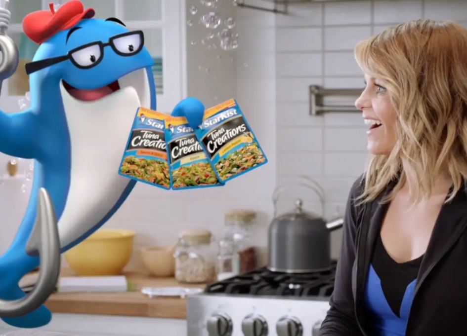 'Full House' star teams up with Charlie the Tuna
