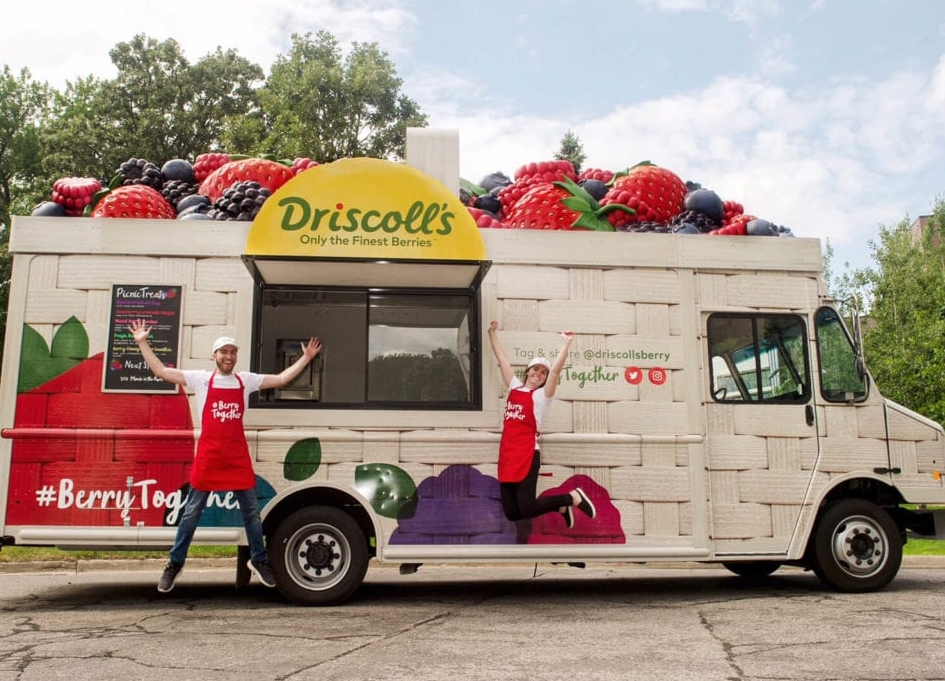 Solve helps Driscoll's share Berry Joy
