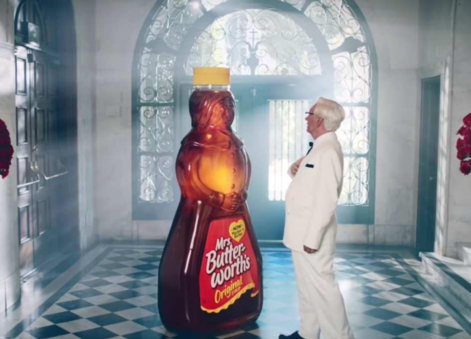The Colonel feels the power of love in this Ad of the Week