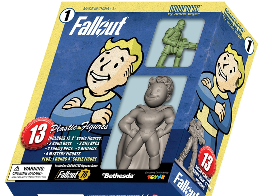 Toynk Toys announces release dates for 'Fall Out'  line