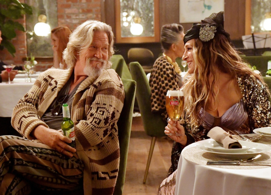 "Stella Artois brings back ""The Dude"" & Carrie Bradshaw"