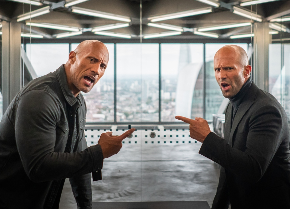 Ahead of Super Bowl, here comes 'Hobbs & Shaw'