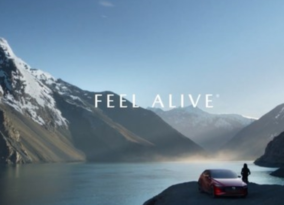 "Mazda campaign urges drivers to ""feel alive"""
