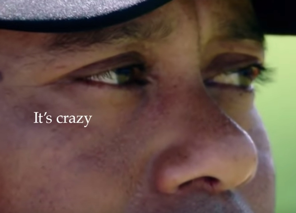 Nike celebrates Tiger Woods in a crazy way