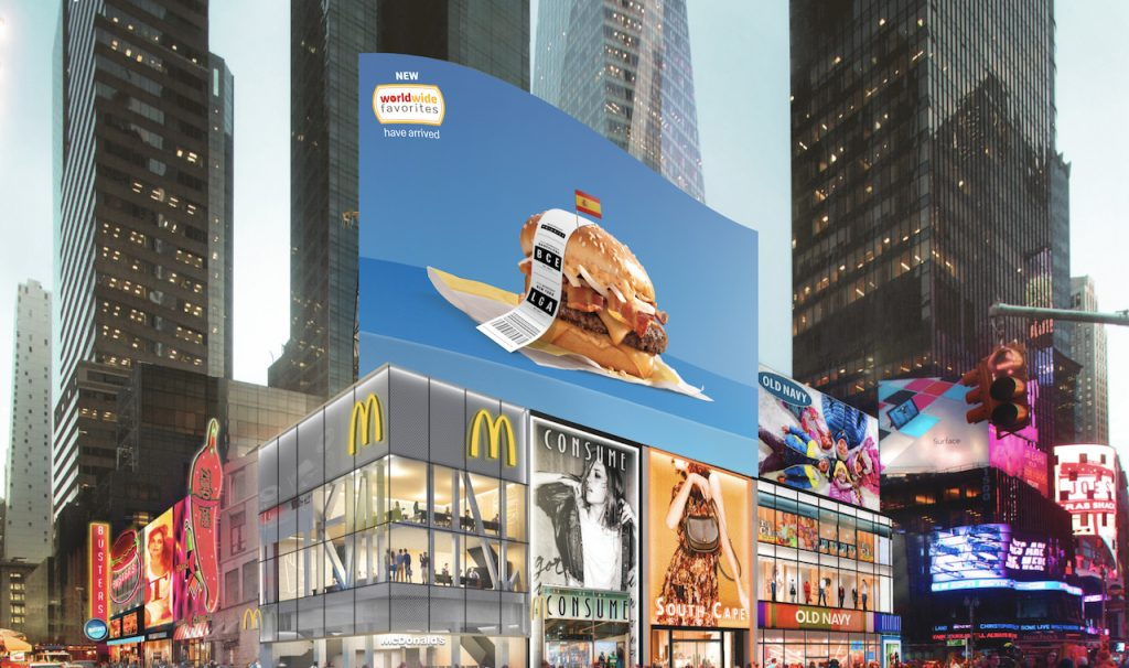 WWF Times Square Billboard