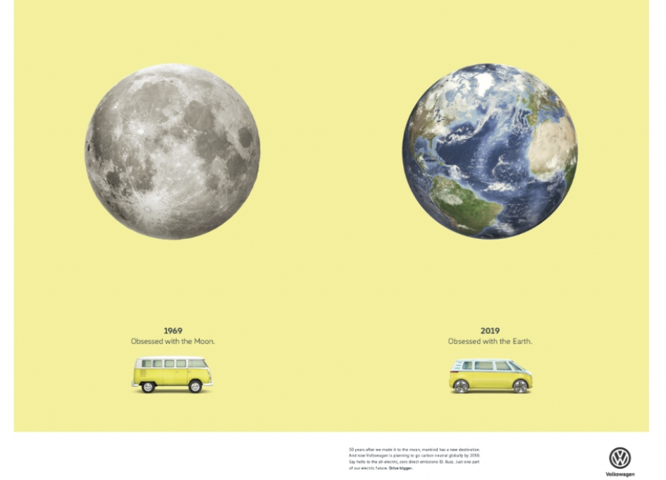 Volkswagen goes back to moon and beyond