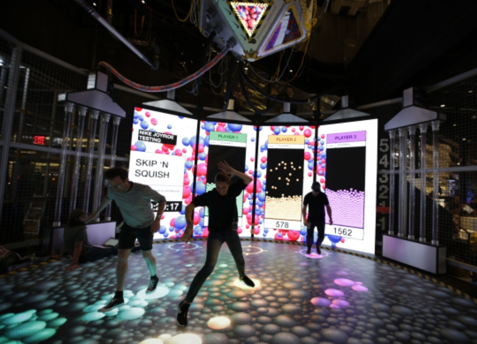 Mill and Nike unveil giant immersive experience