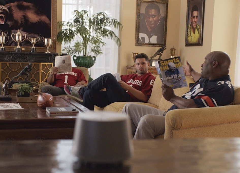 Russo Bros direct Bo Jackson in Nissan's Heisman House