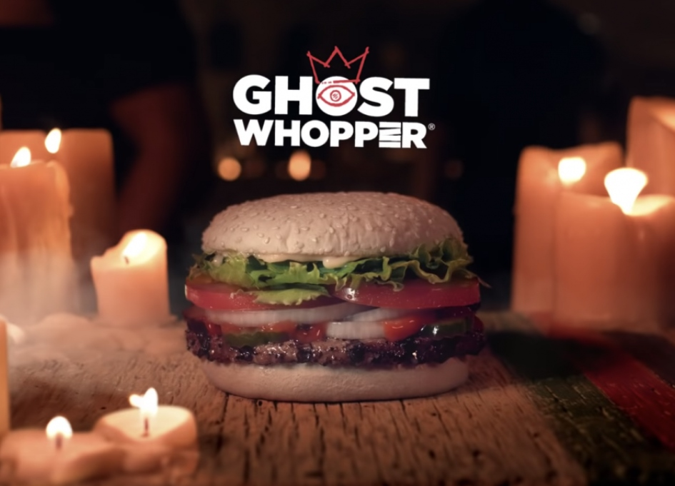 Burger King becomes 'BOOOger King' w/ ghost taste test