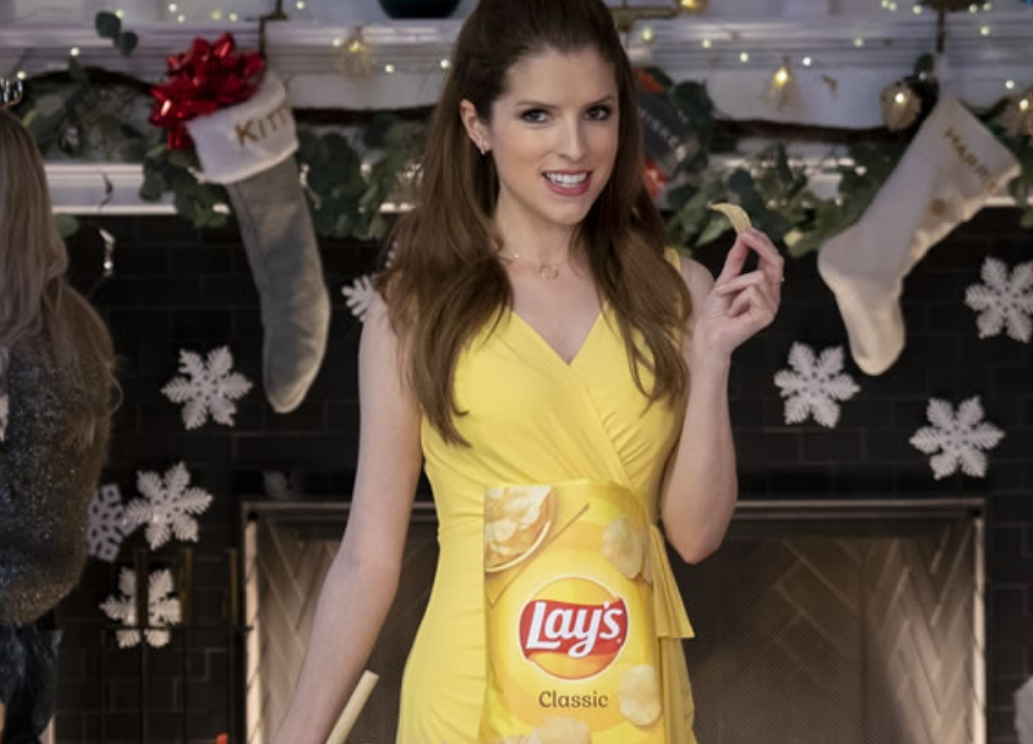 First Look: Anna Kendrick sings up snacking for Frito-Lay