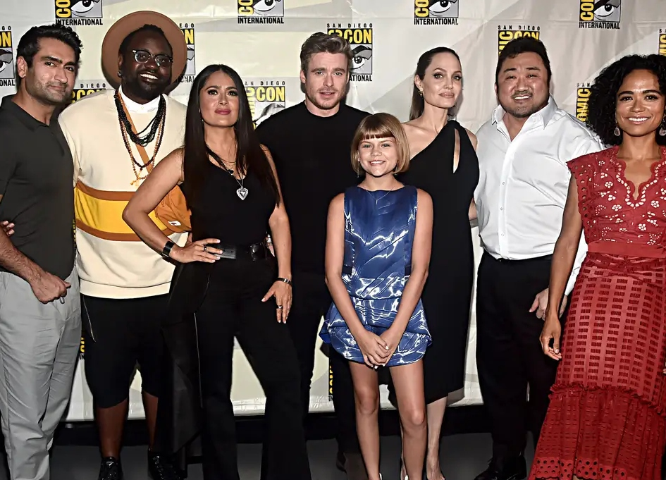 Marvel's 'Eternals' cast evacuated after bomb scare
