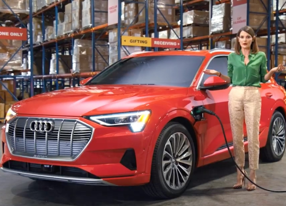 "Short staffed elves seek ""gift tester"" for Audi e-tron"
